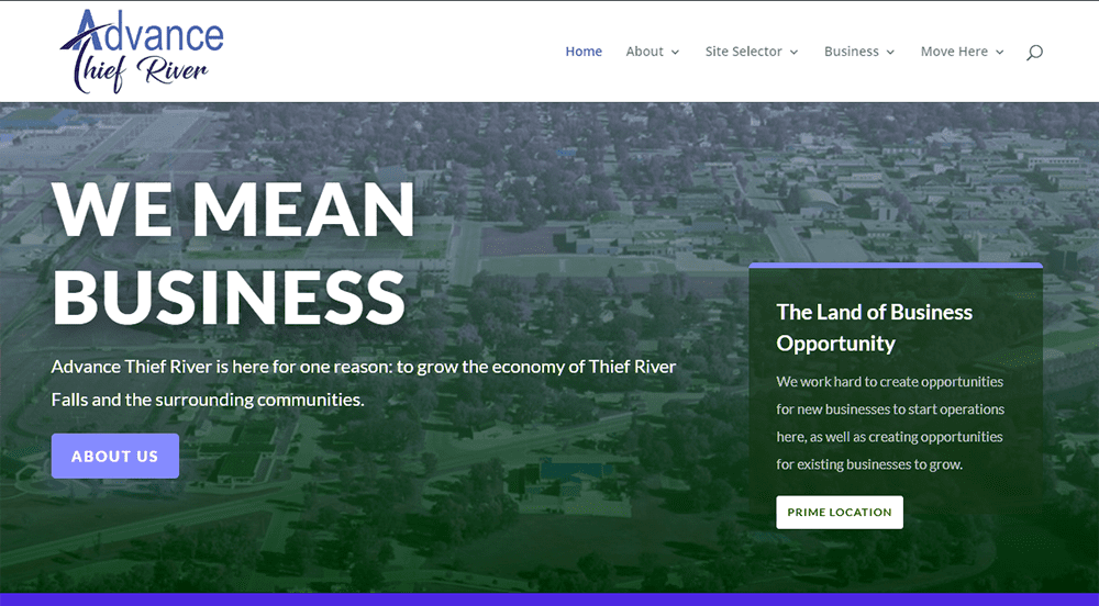 Advance Thief River Website is Live