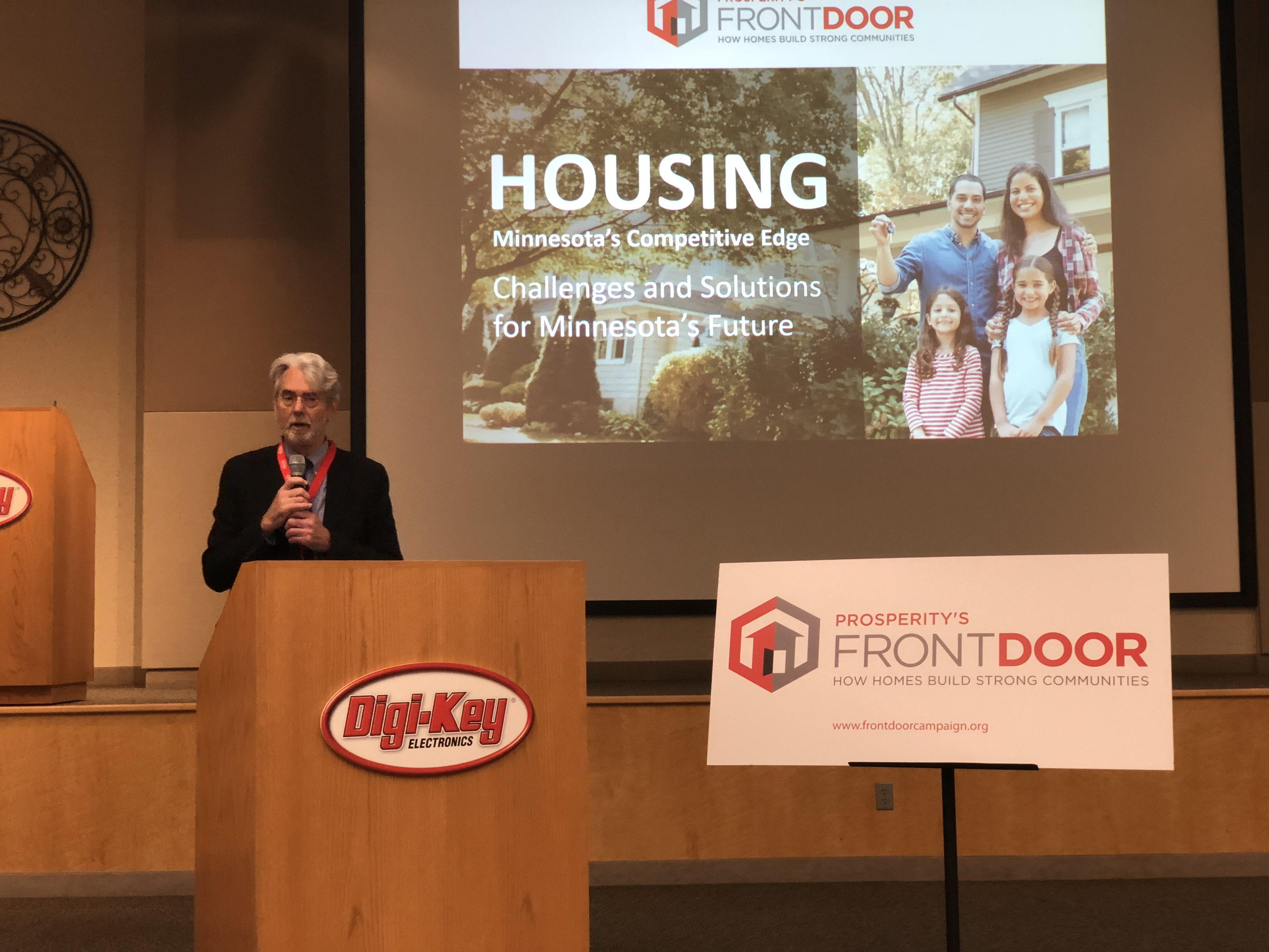 Warren Hanson, President, Greater Minnesota Housing Fund