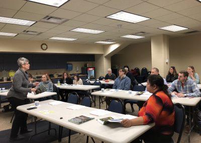 Thief River Falls, Minnesota Making It Home facilitator training