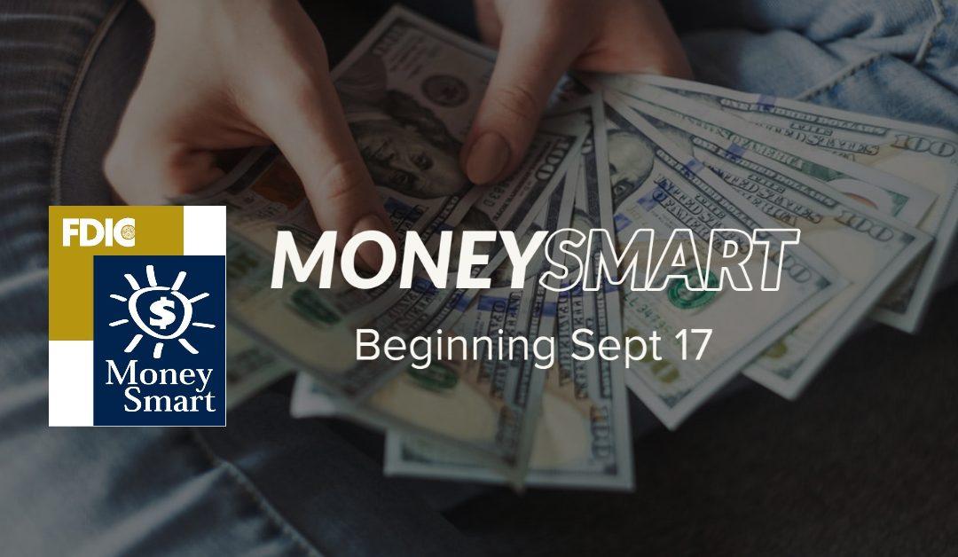 Money Smart Training Starts September 17