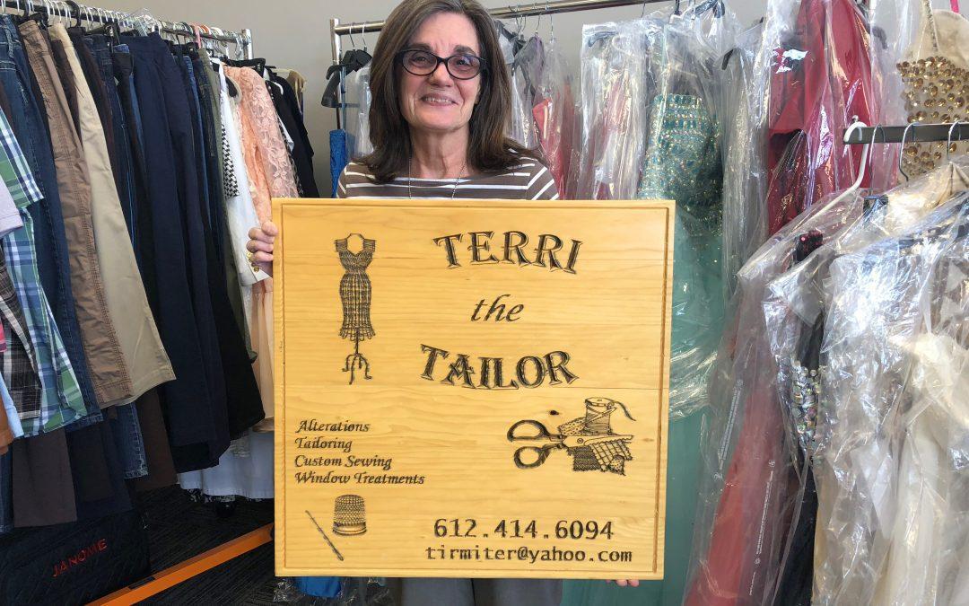 Terri the Tailor Opens
