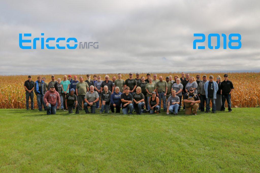 2018 Photo of Ericco Manufacturing Team