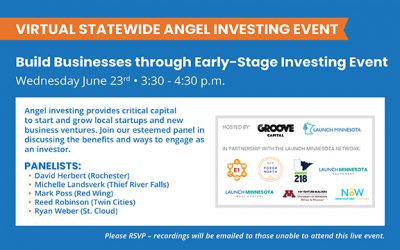 Statewide Angel Investing Event