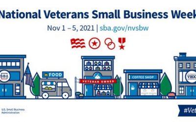 Veteran's Small Business Week